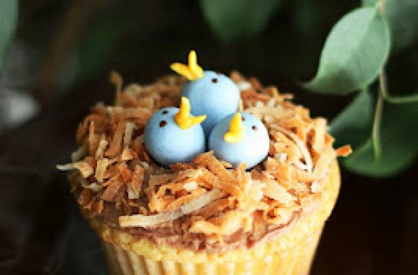 Foodista Bird S Nest Cupcakes Are An Early Springtime