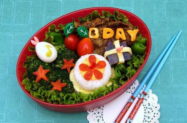 Birthday Bento