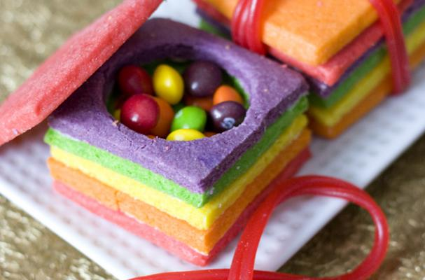 Foodista Colorful Sugar Cookie Boxes Hold A Sweet Surprise
