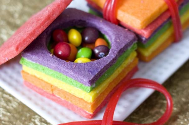 Stacked Sugar Cookie Wedding Cakes