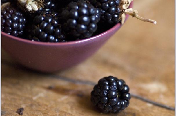 blackberry souffle