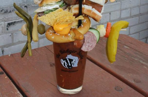 A Weird Bloody Mary Topped With 10 Appetizers