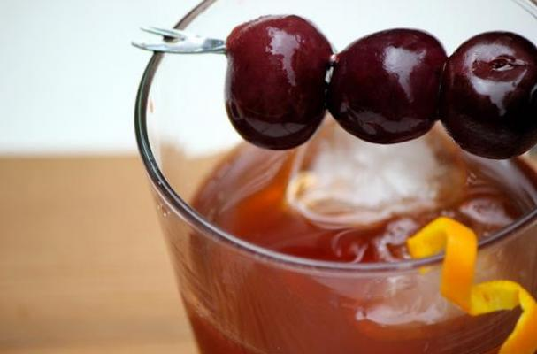 Bourbon-Soaked Cocktail Cherries