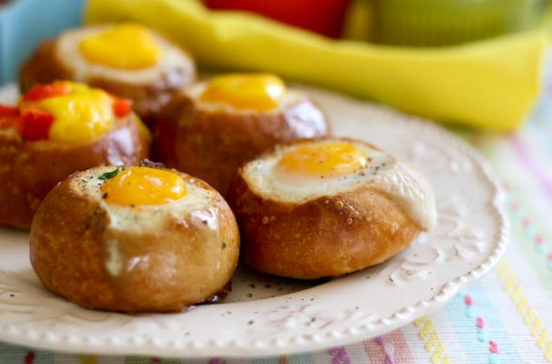 Foodista | Breakfast Bread Bowls and Other Easy Easter Brunch Recipes