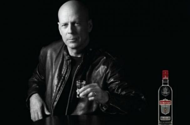 Bruce Willis in Sobieski Vodka Ads