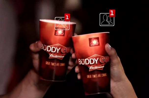 The Budwieser Buddy Cup Lets You Add Facebook Friends With a  Clink