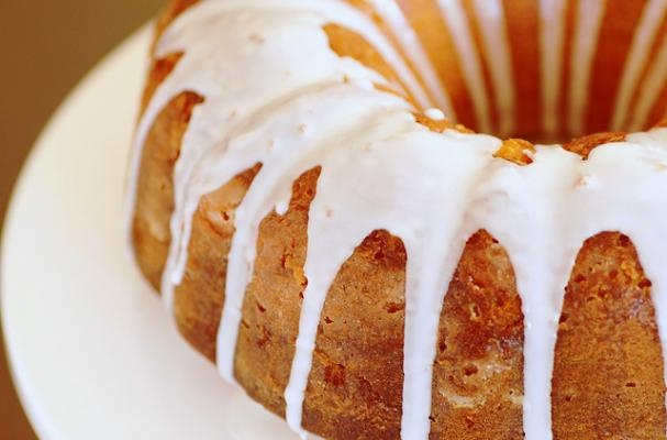 iced buttermilk butternut squash bundt cake
