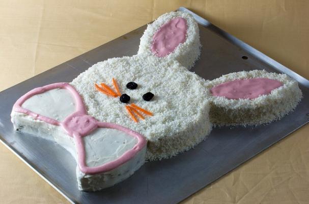 Chocolate Bunny Mold Cake Recipe