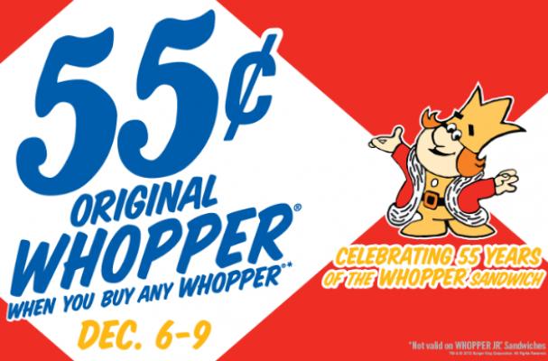 55 cent whopper