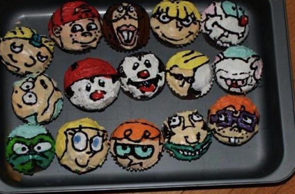 90s cupcakes