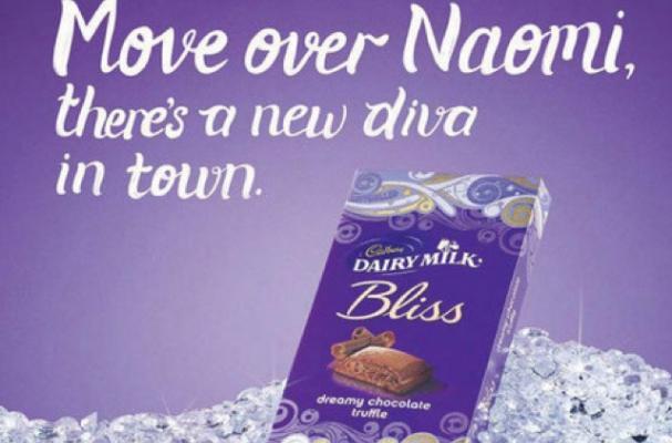 Naomi Campbell Cadbury Ad