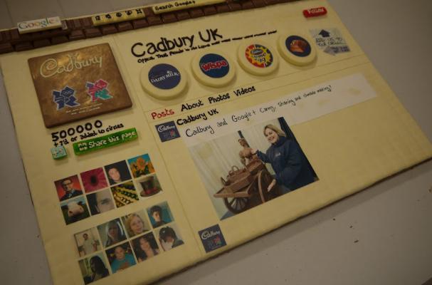 Cadbury Chocolate Google+ Page