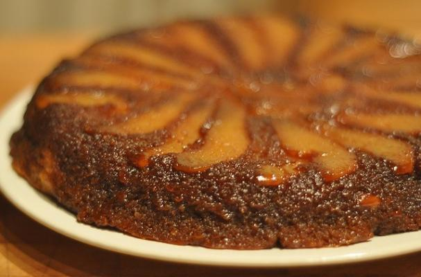 Foodista | Must-Try Cardamom Pear Upside Down Cake