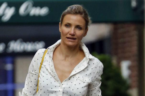 Cameron Diaz Spotted in West Hollywood at Business Dinner