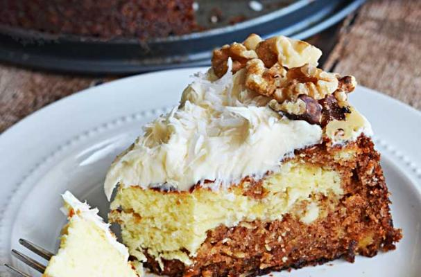 Must-Make Carrot Cake Cheesecake for Easter