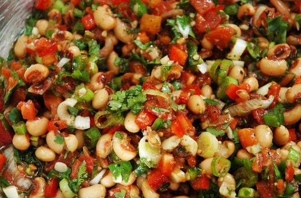 Foodista Texas Caviar is a Spicy Southwest Salad