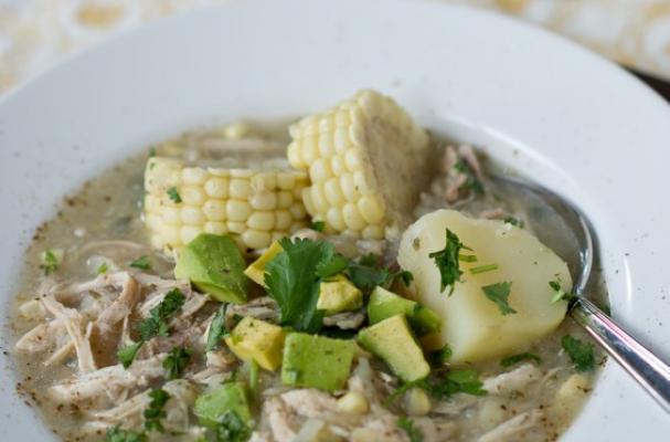 corn and chicken stew