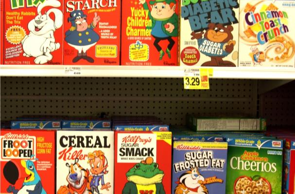 Hacked Cereal Boxes