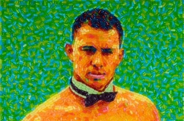 Candy Portrait Makes Channing Tatum's Magic Mike Look Delicious