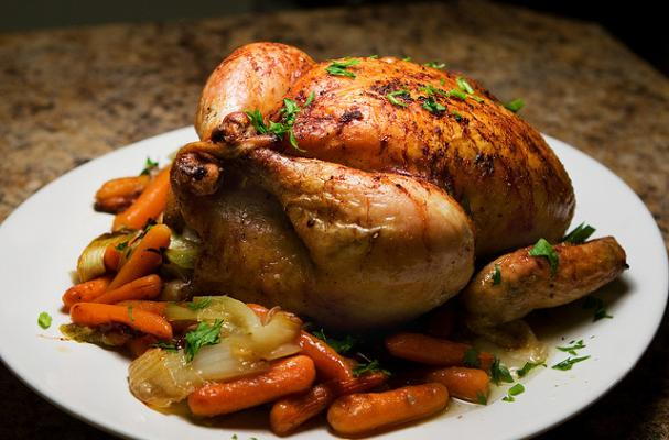 Foodista Super Sunday Roasted Chicken