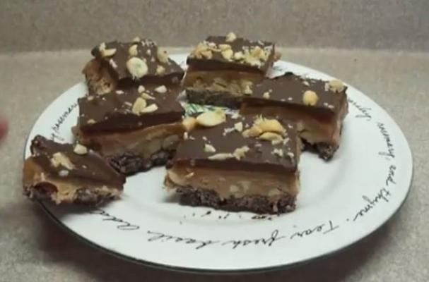 Incredible No Bake Chocolate Nougat Bars