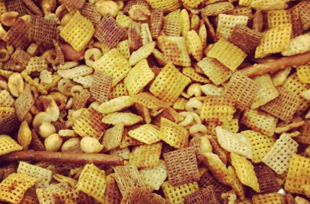 pairing chex mix and wine