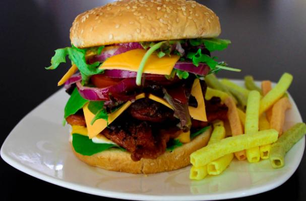 Easy Chicken Recipes: Grilled Chicken Burgers