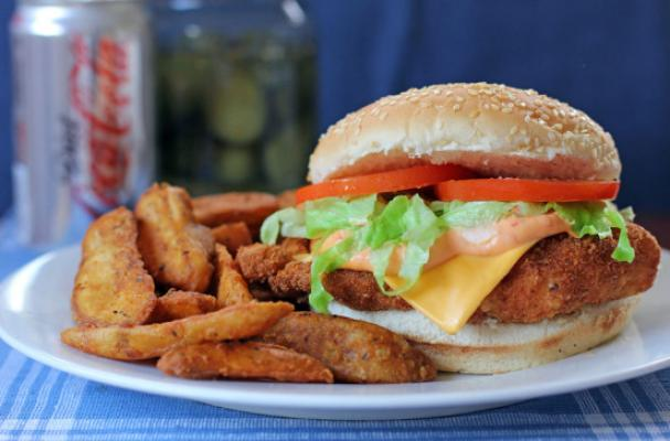 Sizzling Chipotle Chicken Burger