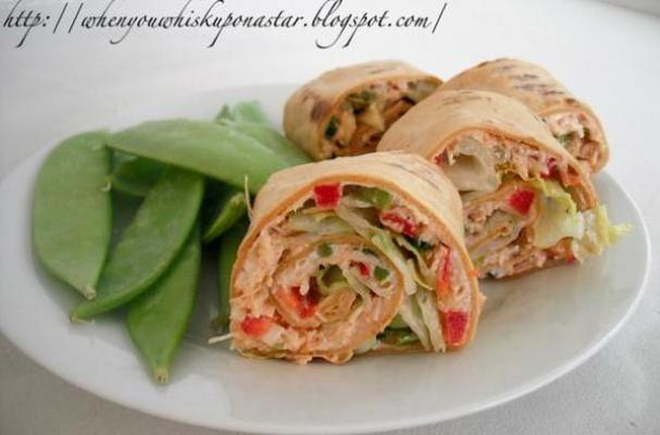 Curried Chicken Roll-Ups