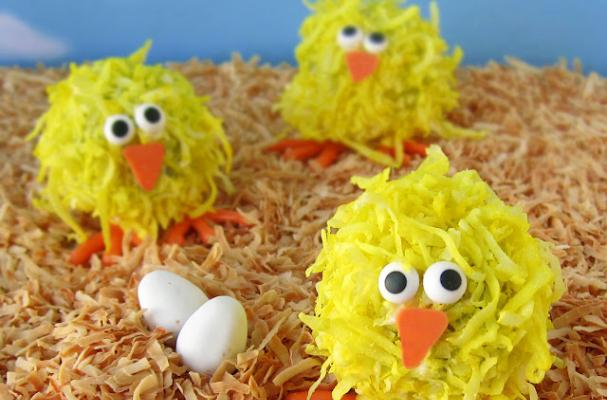 Easter Chick Cake Ideas