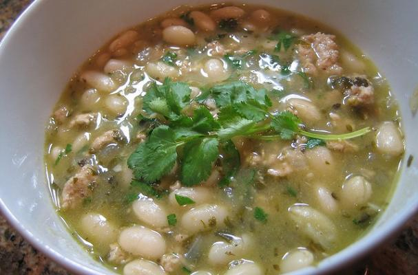 Foodista | Delicious White Bean Turkey Chili