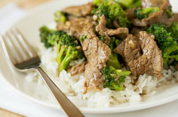 Around the World: Chinese Beef and Broccoli