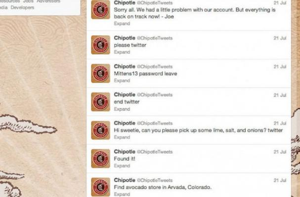 Chipotle Admits to Staging Twitter Hack