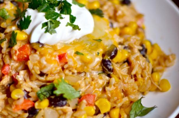 Foodista | Sizzling Chipotle Chicken and Rice