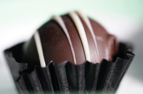 Foodista Decadent Chocolate Raspberry Truffles For