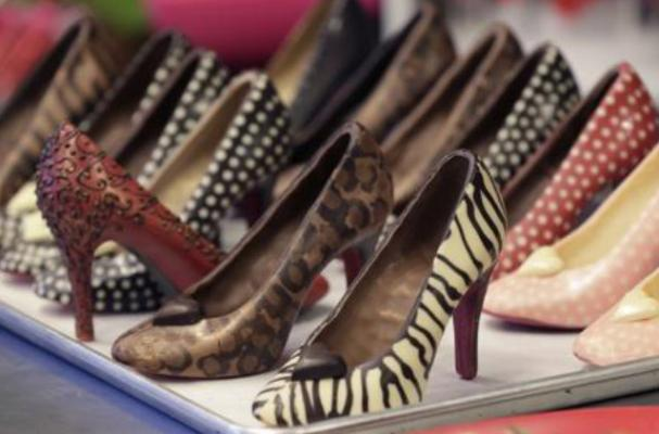 foodista | chocolate christian louboutin pumps are sweet, Ideas
