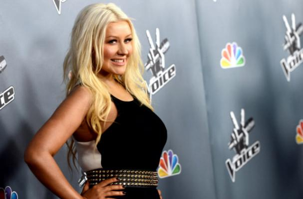 Christina Aguilera Shows Off Weight Loss