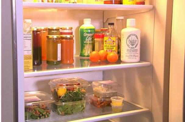 A Look Inside George Cloony's Fridge