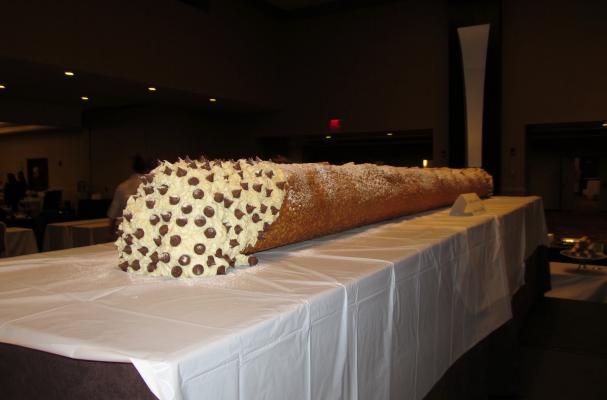 The World's Largest Cannoli