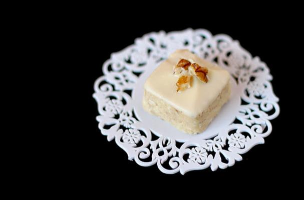 Jessica's White Chocolate Coconut Petit Fours