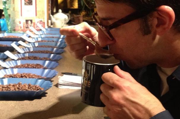 cupping coffee in seattle