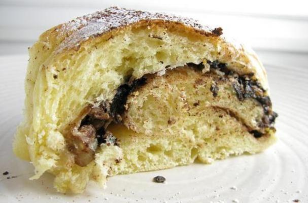 Chocolate Meringue Coffee Cake