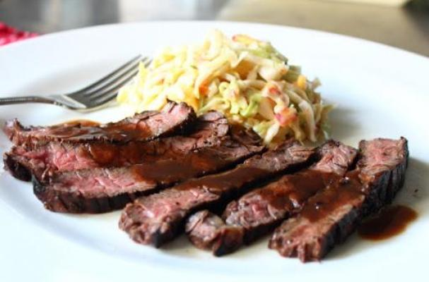 Grilled Coffee and Cola Skirt-Steak