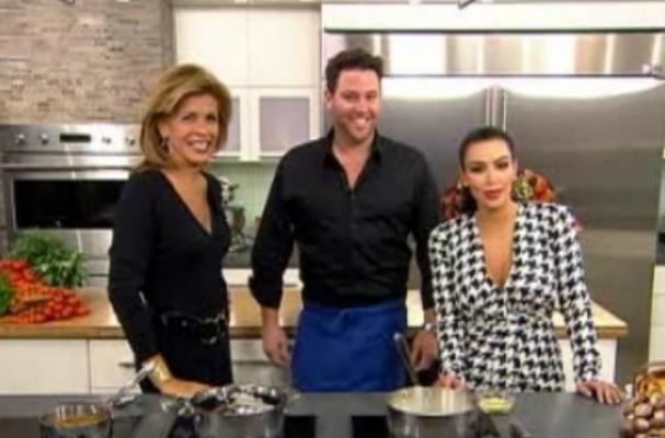 Kim Kardashian Cooking on 'Today'