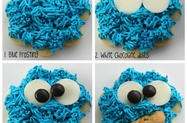 cookie monster cookies
