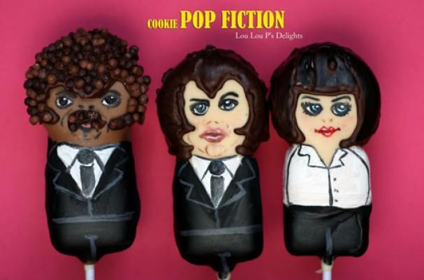 Cookie Pop Fiction Cake Pops