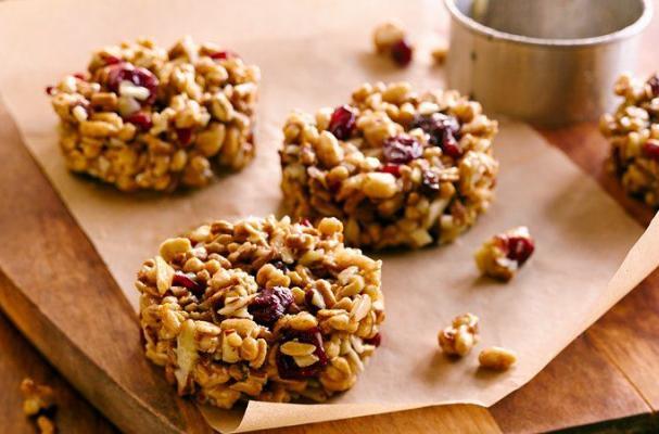 Foodista | No Bake Protein Breakfast Cookies
