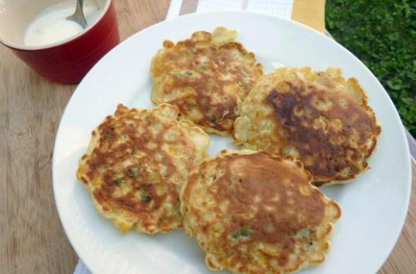 Corn Fritters with Lime Aioli