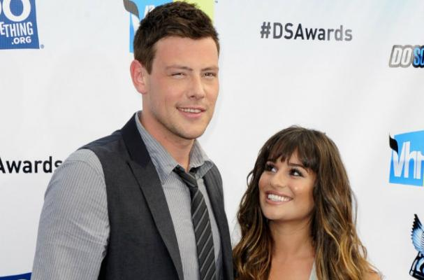 Lea Michele Helps Cory Monteith Lose Weight