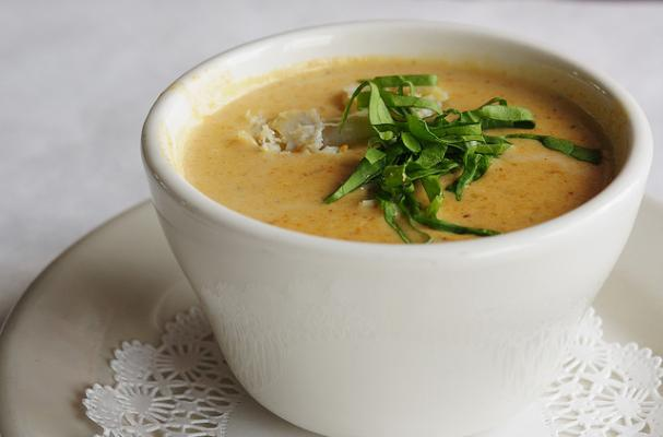crab bisque with brandy